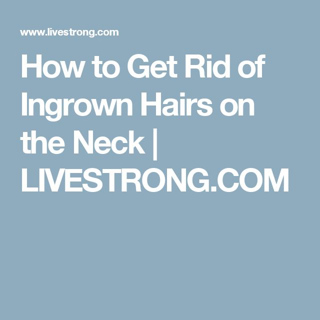 how to get rid of neck hair permanently