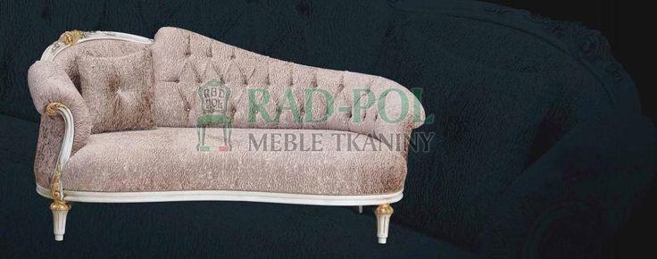 Szezlong 1050/N - Szezlongi - Rad-Pol - Meble Stylowe, meble włoskie, klasyczne meble retro, sofy stylowe, narożniki