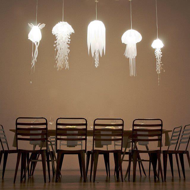 beautiful jellyfish lamp @Loraine Martell
