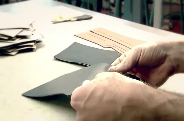 The making of a Louis Vuitton shoe in Fiesso d'Artico, Italy.