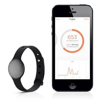 Misfit Shine Personal Fitness Monitor - Water Resistant   A sleek personal monitor that syncs with the free Shine app on your iPhone, iPad or iPod touch to track: walking, running, sleeping, cycling and swimming!