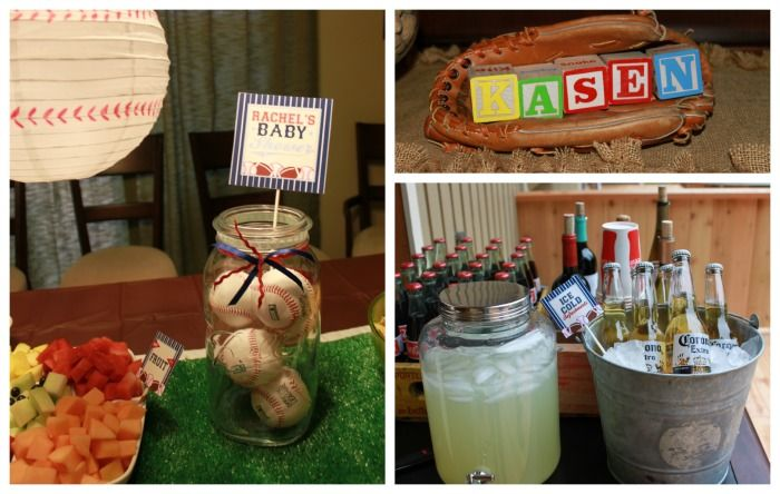 Sports Boy Baby Shower Ideas   Sports Baby Shower Decor   Dimple Prints ///  Lemonade Would Be A Good Drink.   Baby Shower   Pinterest   Sports Baby, ...