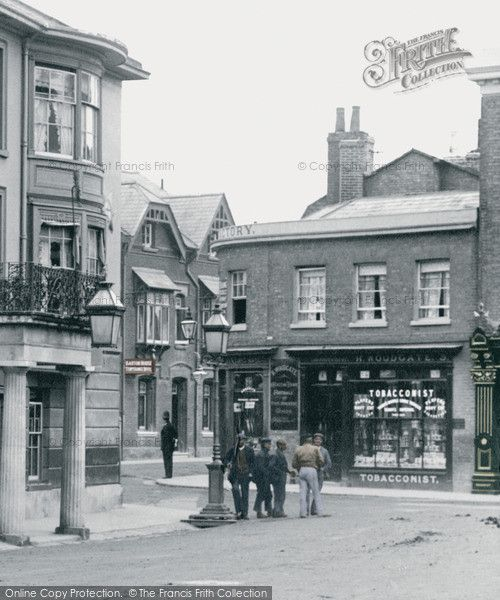 Andover, High Street 1904, from Francis Frith