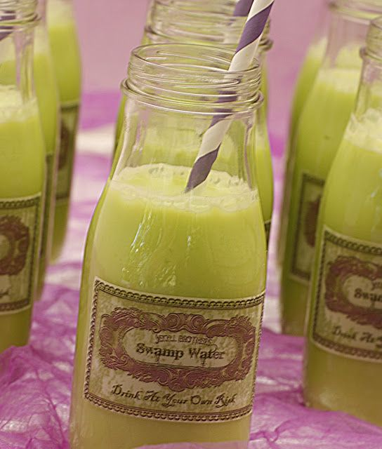 Are you looking for something different   to serve as a drink this year for   Halloween? How about   Swamp Water?     Every year at Pu...