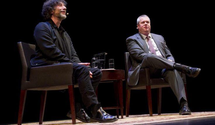 Neil Gaiman and Daniel Handler Duke It Out in a Literary Duel