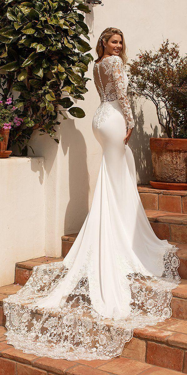 Moonlight Wedding Dresses Collection 2020 Wedding Forward In 2020 Wedding Gowns Mermaid Moonlight Wedding Dress Wedding Dress Long Sleeve