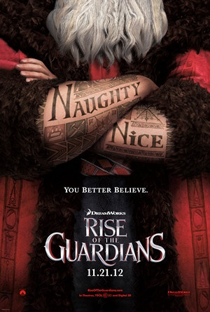 """Rise of the Guardians"" Dude. Chris Pine as Jack Frost, Isla Fisher as the Tooth Fairy, Hugh Jackman as the Easter Bunny, Tom Kenny as the Sandman, Jude Law as the Boogeyman, Alec Baldwin as Santa. Set to release November 21, 2012.