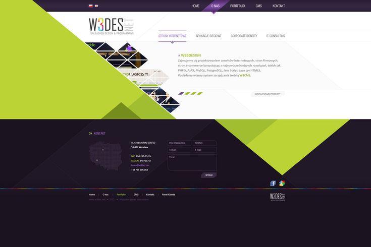 Company Web Layout by nonlin3 on DeviantArt