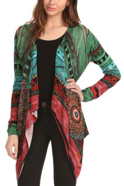 Gekleurde sweater vrouw herfst-winter | Desigual Milas