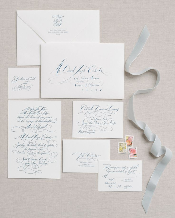 Light And Fresh Wedding Stationery | Photography: Trent Bailey Studio    Http://