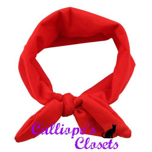 Headband - Stretch - Red