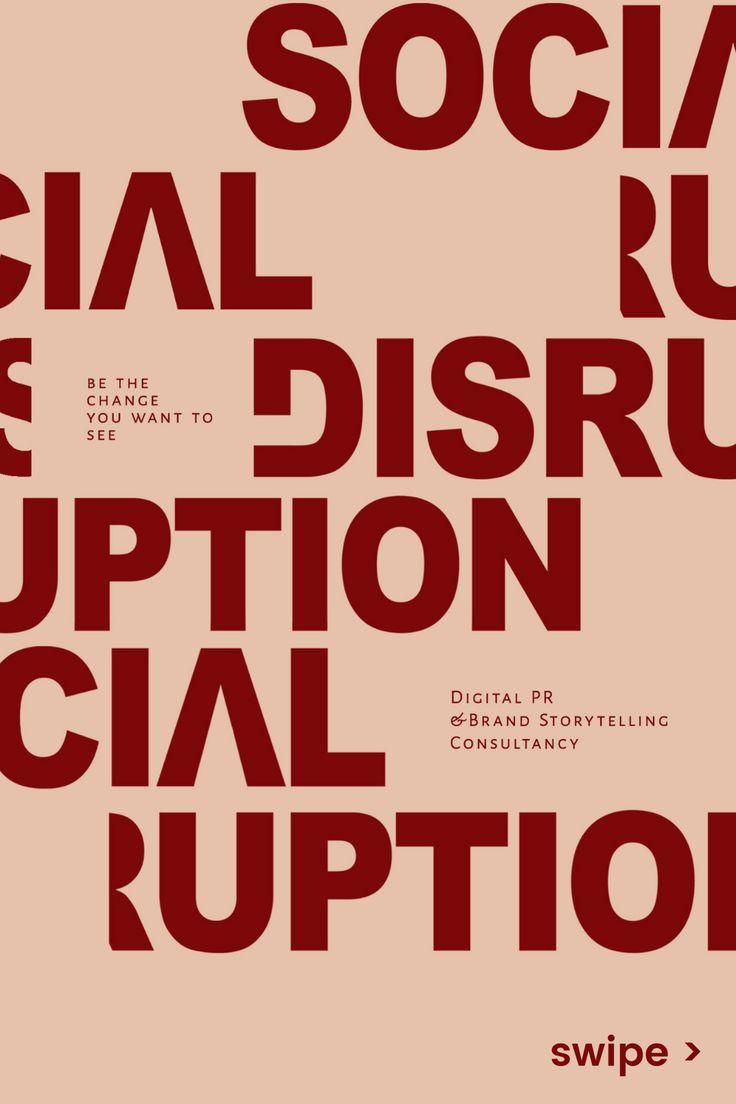 About Social Disruption Storytelling, Change, Digital