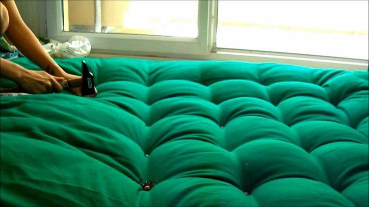 DIY : Faire une tête de lit capitonnée Ü