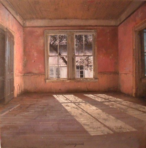 Beautiful Paintings of Abandoned Interiors