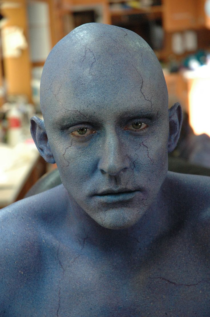 Look at pictures of Lee Pace's makeup transformation.