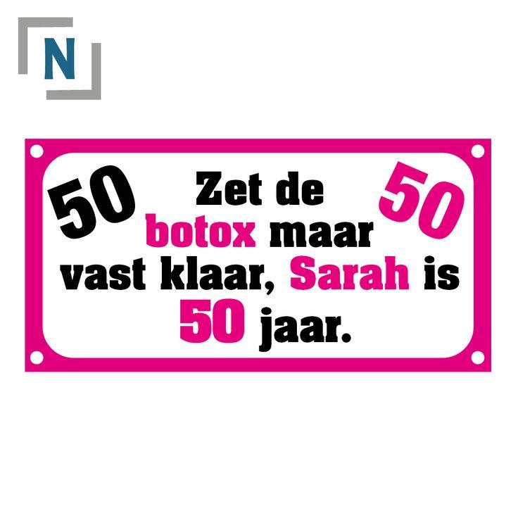 Spandoek-50-jaar-Sarah.png (PNG-afbeelding, 1181×1181 pixels) - Geschaald (50%)