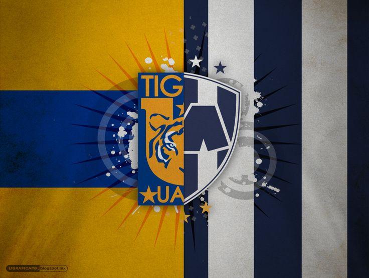 #Clásico100 @CLUB TIGRES VS @Rayados de Monterrey Oficial • #Wallpaper #LigraficaMX • ¿Cuál es tu favorito?
