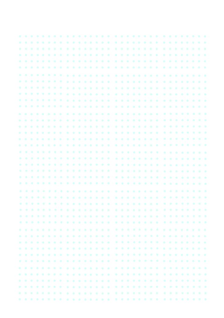 bullet journal a4 printable dot template