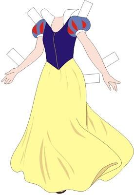 Bonecas de Papel: Princesas da Disney