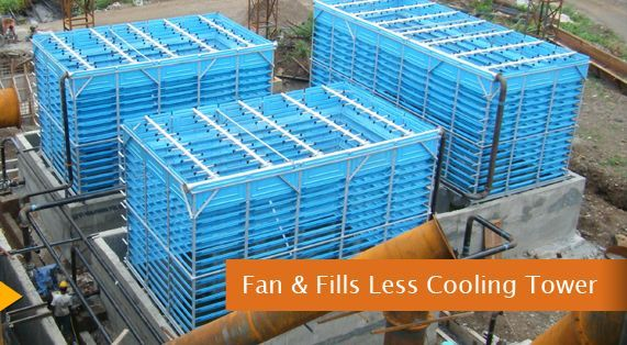 Fan Less Cooling Tower Fills Less Cooling Towers Tower Tech Cooling Towers Cooling Tower Tower Installation