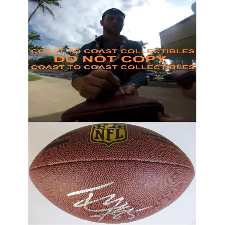 Tyler Eifert, Cincinnati Bengals, Notre Dame, Signed, Autographed, NFL Duke Football, a COA with the Proof Photo of Tyler Signing Will Be Included with the Football