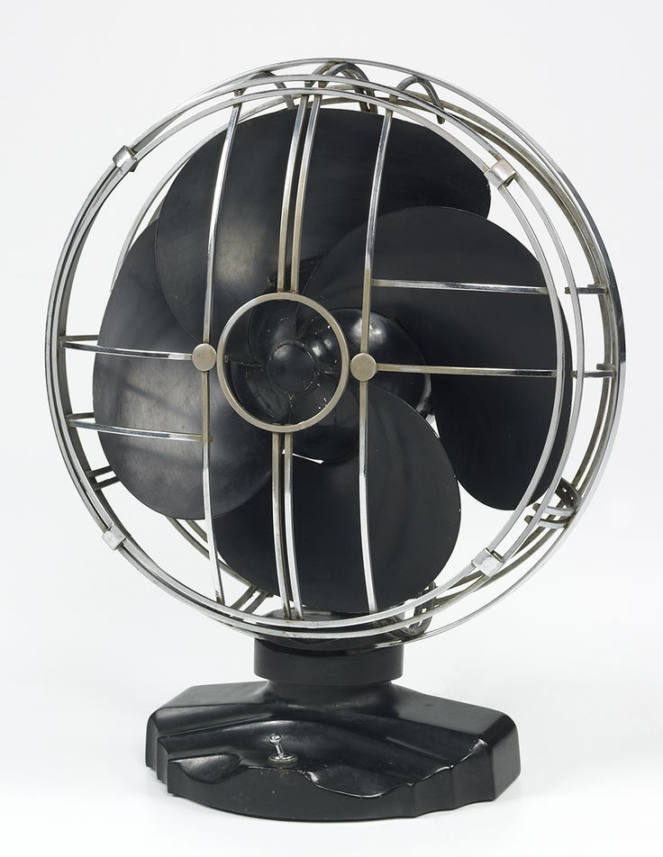 Emerson Desk Fan : Emerson imperial silver swan desk fan box c