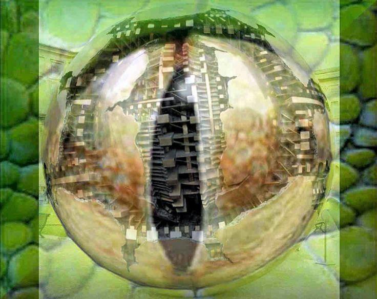 El origen Reptiliano de la Esfera Metálica del Vaticano. ¿Que mas oculta tras sus intrigantes formas? ~ El Erminauta - Una visión del universo desde mi cueva digital.