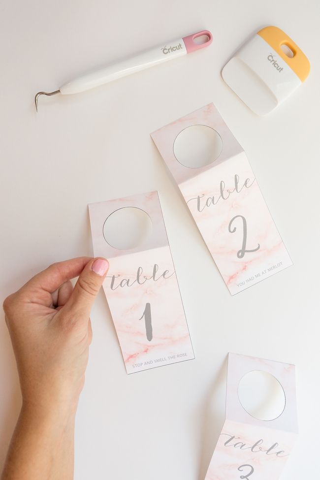 free printable diy wedding wine tag table numbers