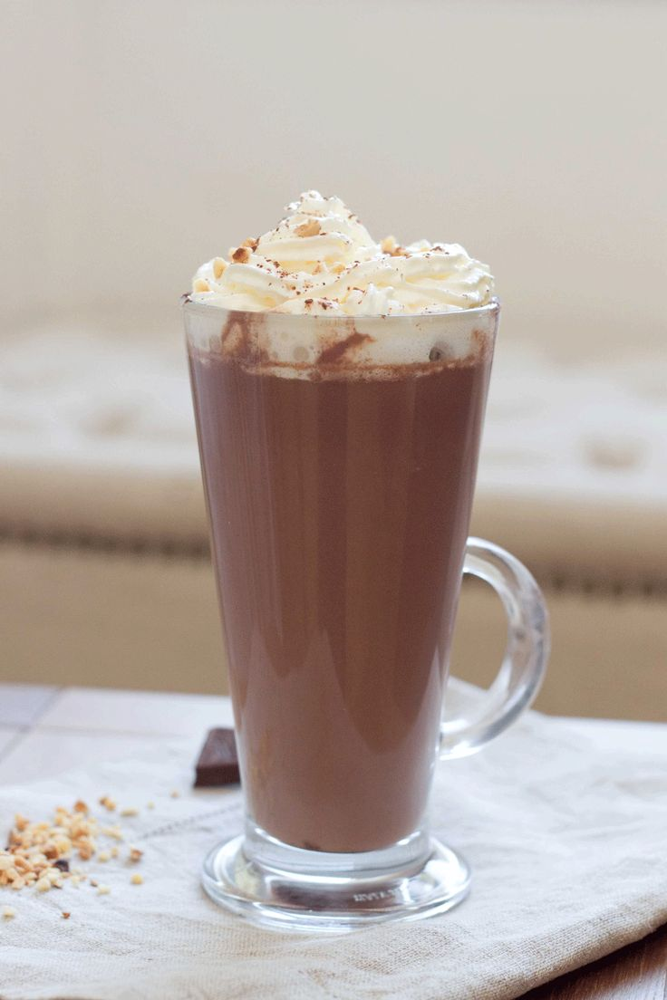 Hazelnut and Cream Hot Chocolate