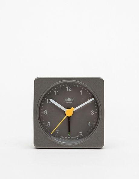 Classic BNC002 Clock in Grey