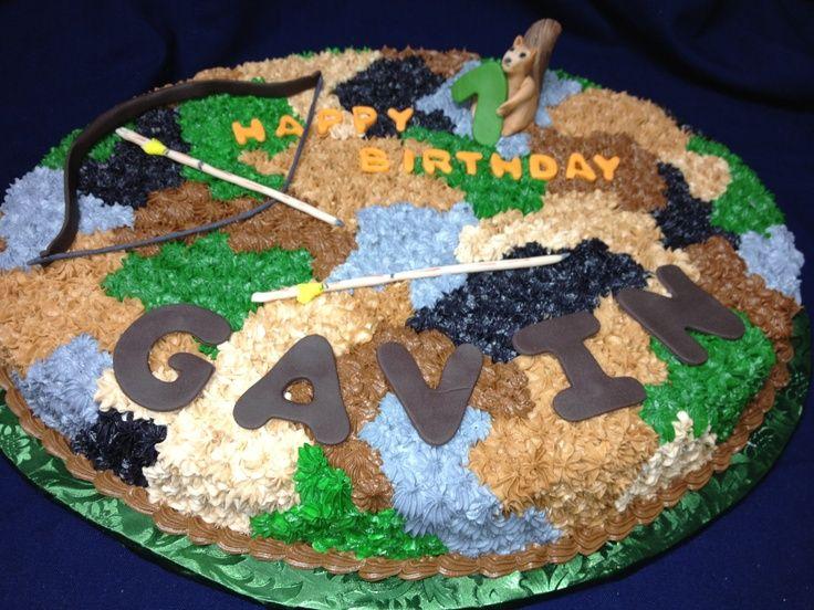 "Camouflage Boy Birthday Cake – ""D"" Cake Lady Birthday Cakes – #birthday #Boy #ca…  – Gateau Anniversaire"