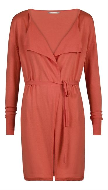 Spring 2015 - Sandwich Coral Long Cardi £79 at www.lbdboutique.co.uk style number 1521630341
