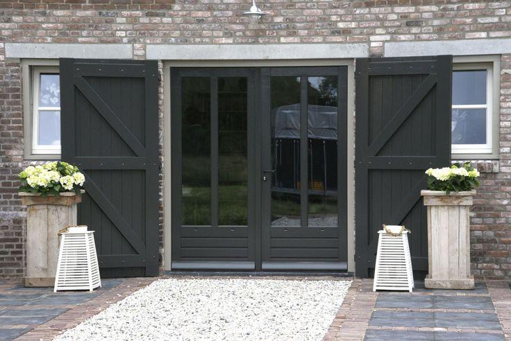 mooie openslaande deuren ♡ ~Rustic Living ~GJ * Kijk ook eens op mijn blog: www.rusticlivingbygj.blogspot.nl