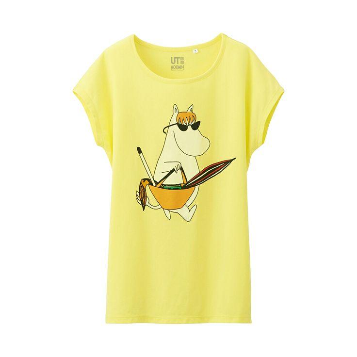 女裝 Moomin 法式袖T恤