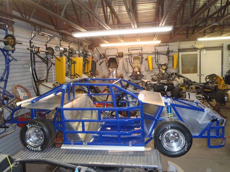 Nc Chassis Mini Cup Race Car Kart Nascar Racing фото