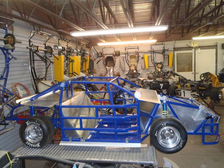 NC Chassis Mini Cup Race Car/ Kart Nascar Racing фото