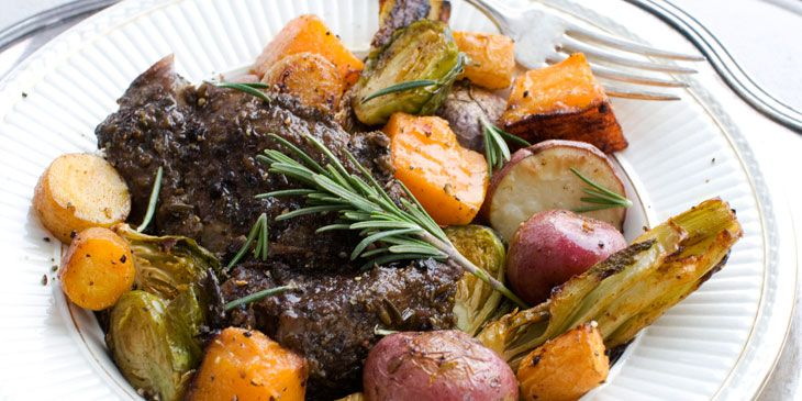 When is a recipe that takes many hours a fast and easy recipe? When it takes just 10 minutes of your time to prepare. Admittedly, this recipe for roasted goat isn't weeknight-friendly. But it is id...