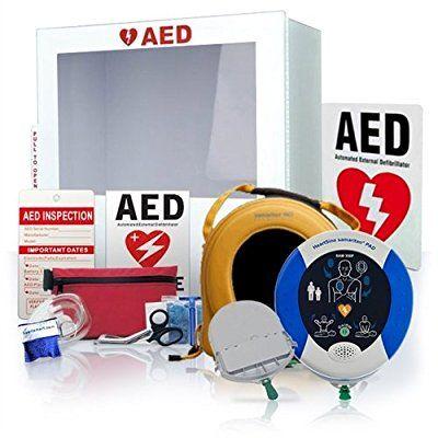 Canadian Business Package-Automatic Defibrillator AED-DEA-HeartSine Samaritan 360P With Alarmed Cabinet.: Amazon.ca: Industrial & Scientific