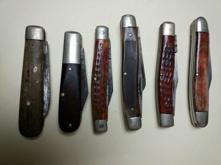 vintage case knifes