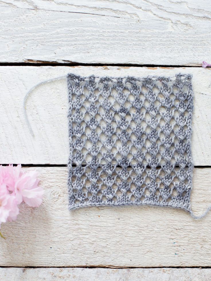 Knitting Instructions Ssk : Best lace stitch patterns tutorials and ideas images