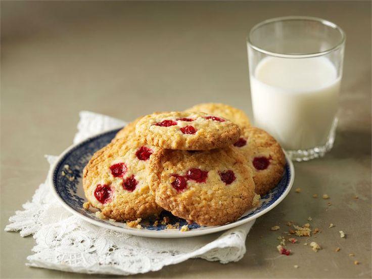 Puolukka-kauracookiet