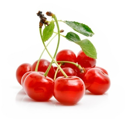 Cherries : picked by hand