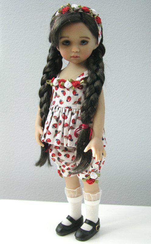 Амели -виниловая кукла Little Darling #1 Дианны Эффнер, роспись Magalie Dawson. Полный сет. / Авторские куклы (ООАК) / Шопик. Продать купить куклу / Бэйбики. Куклы фото. Одежда для кукол