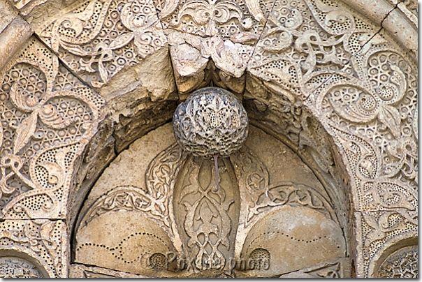 Détail de la façade de la grande mosquée de Divrigi - Divrigi great mosque - Divrigi Ulu camii - Divrigi - Divriği