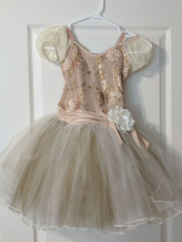 From This Moment. Buy on consignment and dave your money. This ballet costume was worn three times and is in pefect condition.