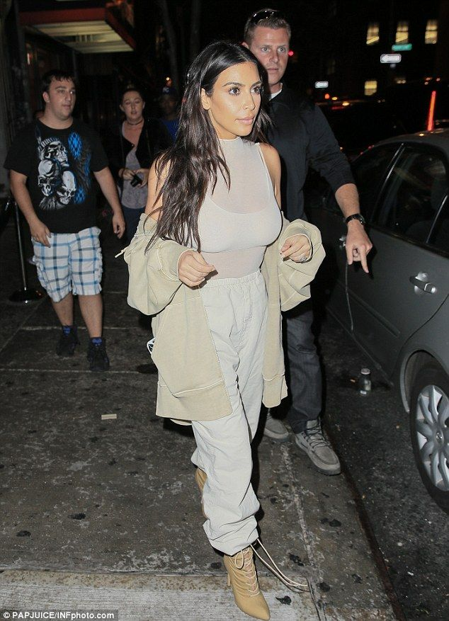 It was a busy day for Kim Kardashian as she hit up multiple events at the first day of New York Fashion week