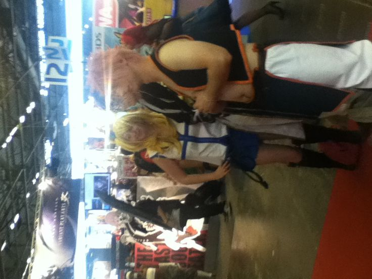 Les cosplay Fairy Tail :-)