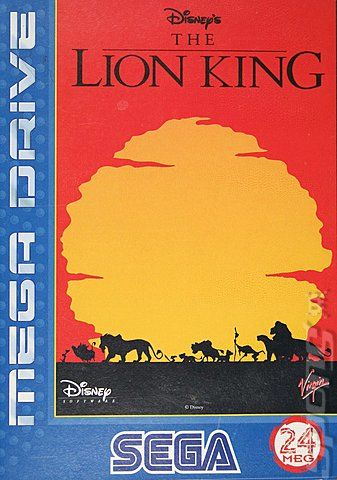 The Lion King. The SNES version is arguably better, but screw it, this is my board and I like this one.