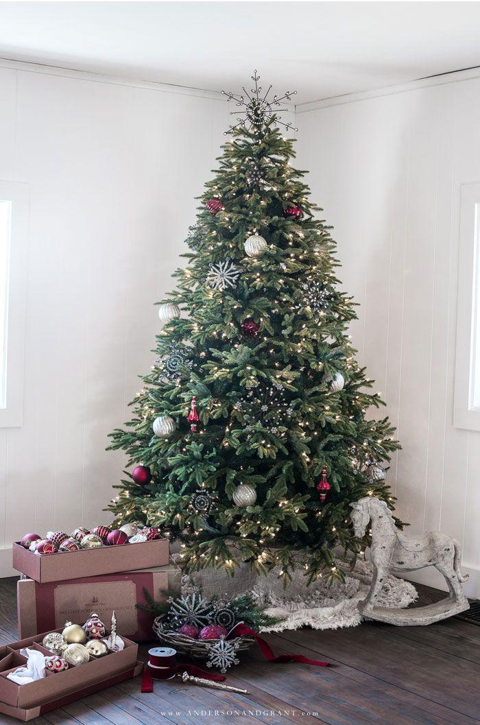 Faux Vs Real Trees Balsam Hill Christmas Tree Real Christmas Tree Christmas Tree Ornaments