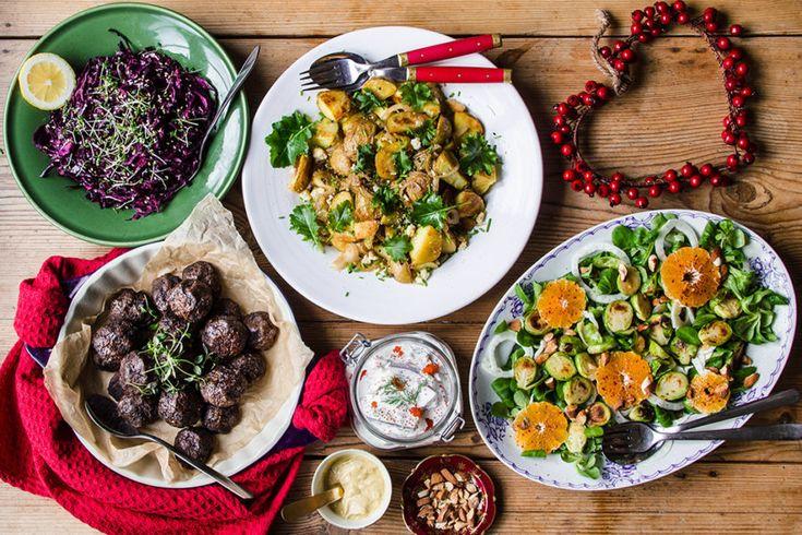 Vegetarisk julmat - 5 goda recept